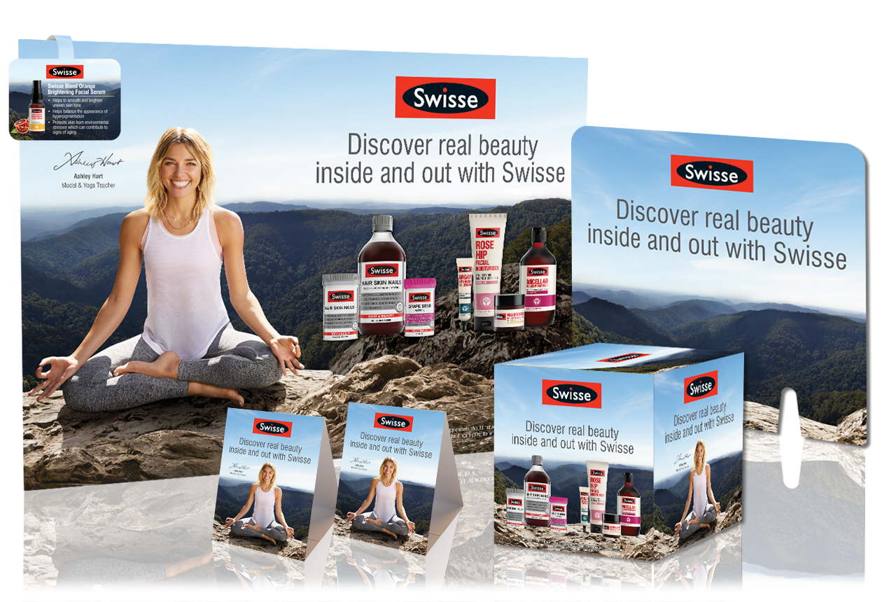 Swisse Beauty POS